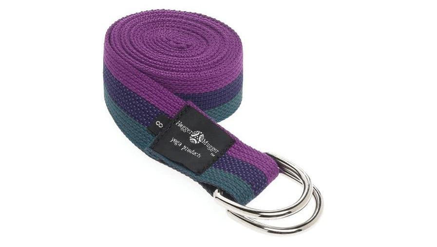 Hugger Mugger D-Ring Non-Slip Yoga Straps