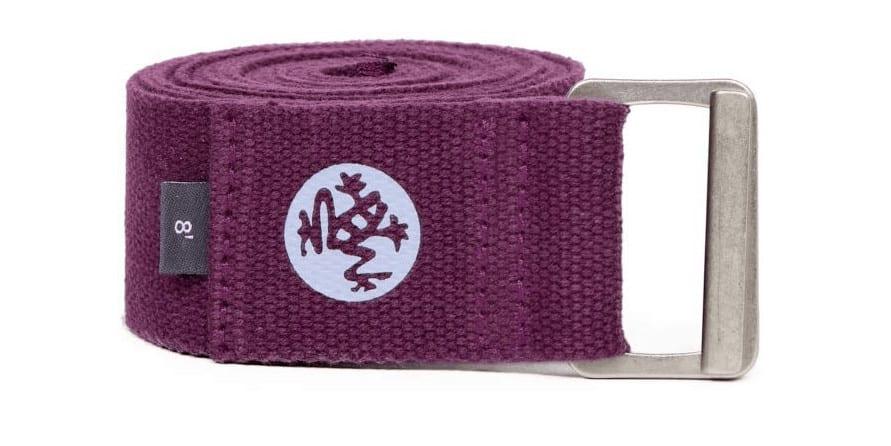 Manduka Unisex Align Non-Slip Yoga Strap 8'