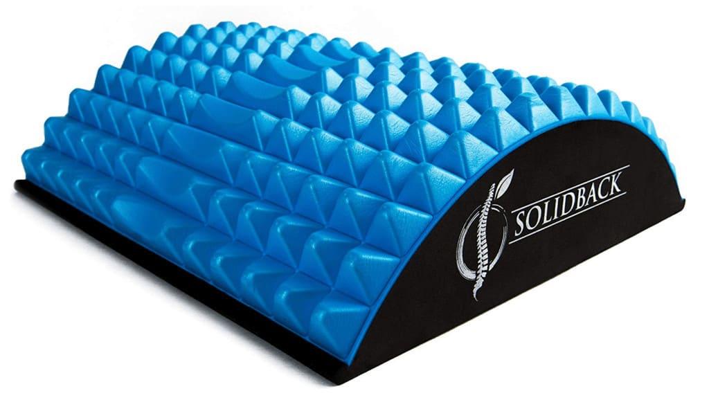 Plastic yoga back benders