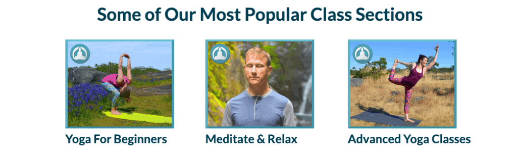 DoYogaWithMe Popular classes