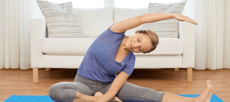 Doing yoga as a student