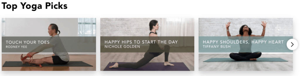 Top Yoga Picks
