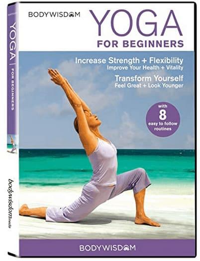 Watching Hatha Yoga at home DVD