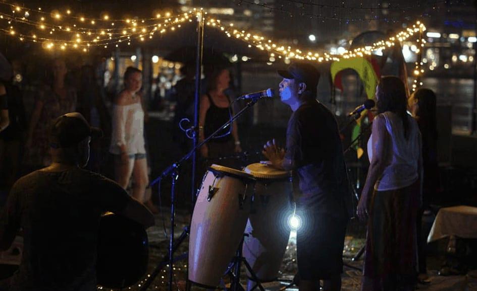 Kirtan playing in Brisbane