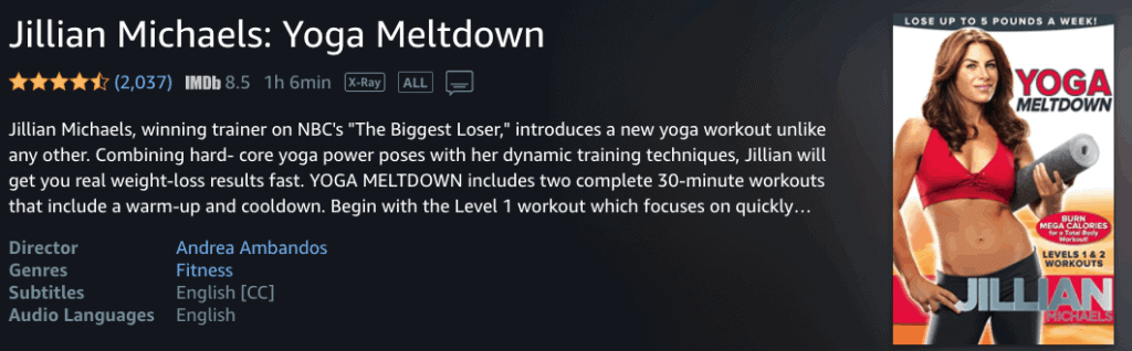 Yoga Meltdown - Jillian Michaels