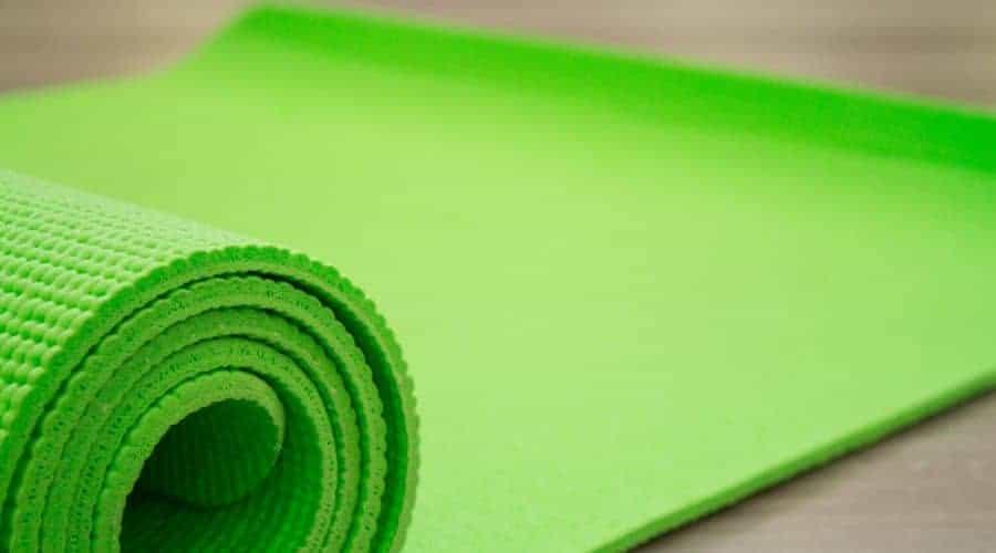 Avoid cheap yoga mats