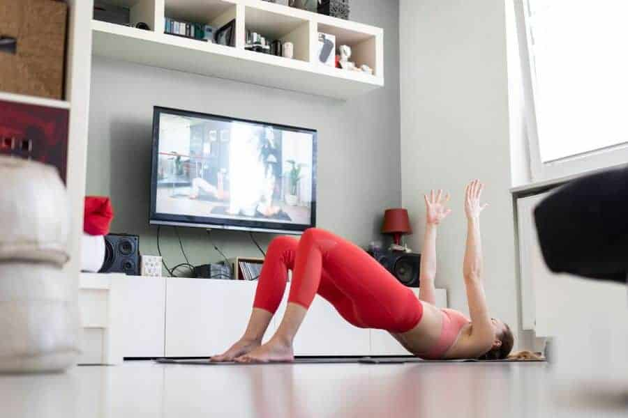 Yoga exercises can be challenging