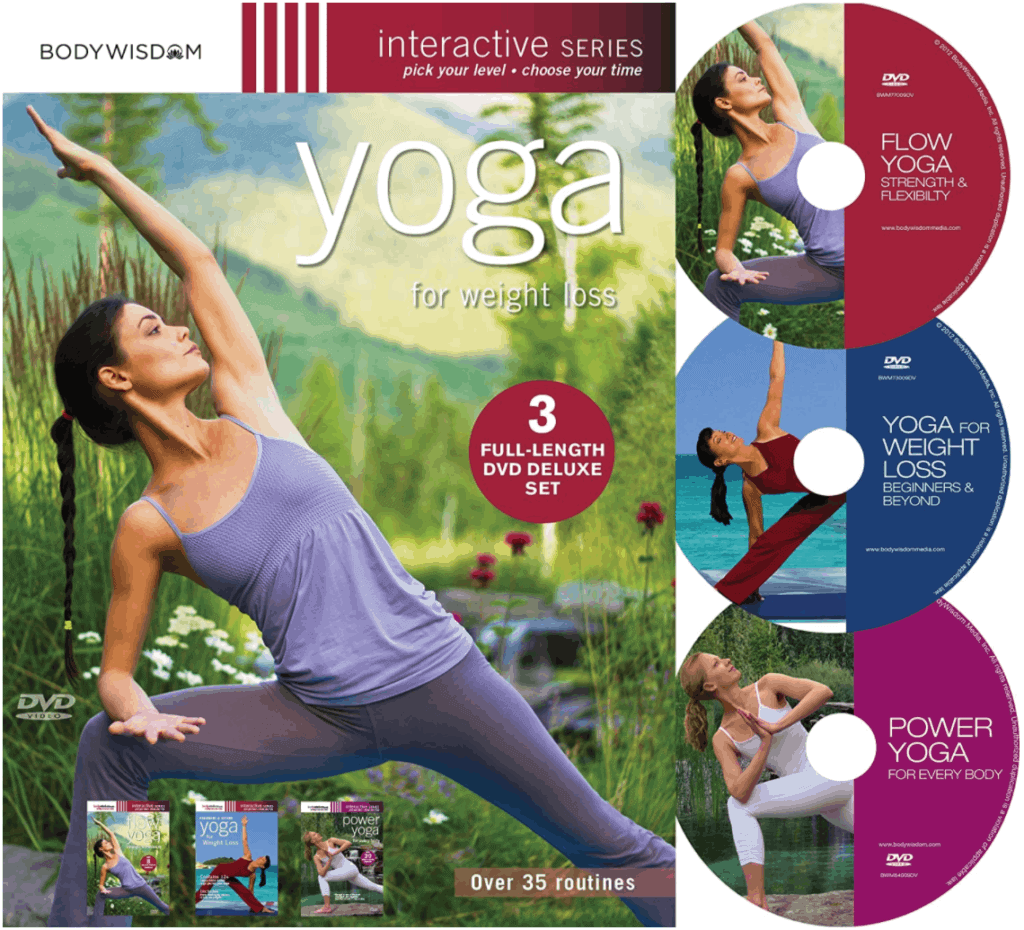 Yoga for Weight Loss - This is the best yoga dvd for weight loss available
