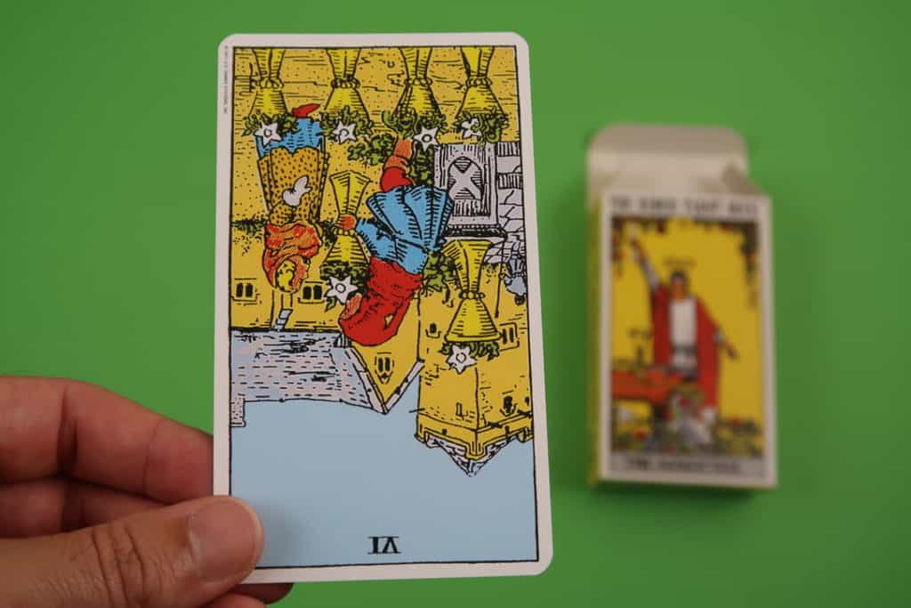 Psychic reading of The Six of Cups Reversed