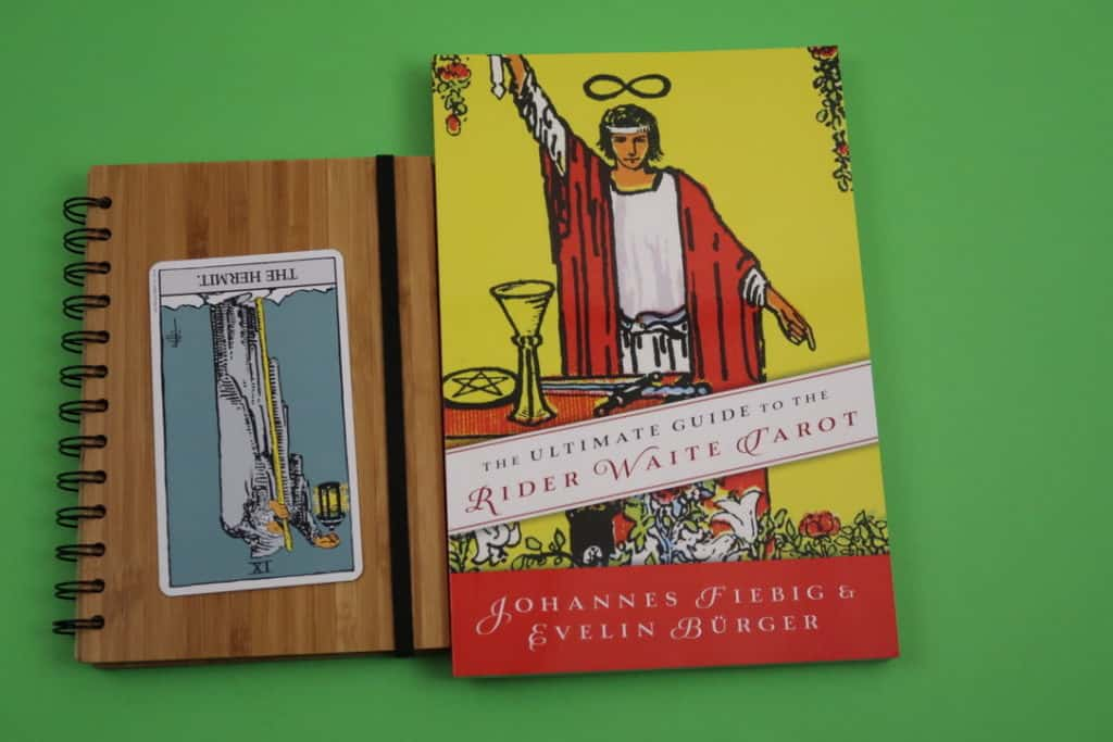 The Hermit Reversed tarot card