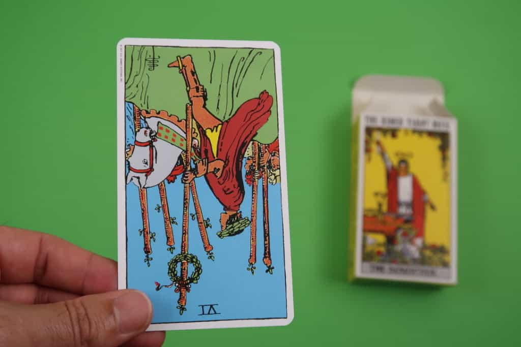 Tarot reading of The Six of Wands Reversed
