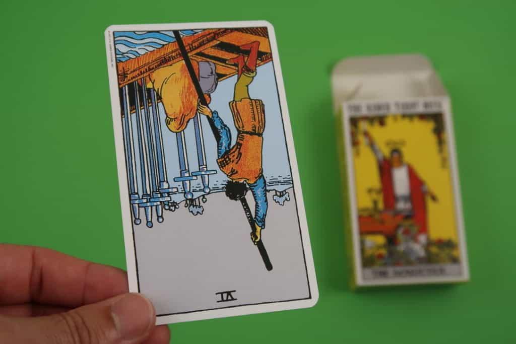 The Six of Swords psychic tarot reading