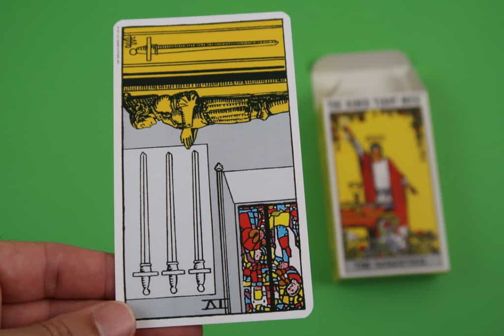 psychic reading of The Four of Swords Reversed