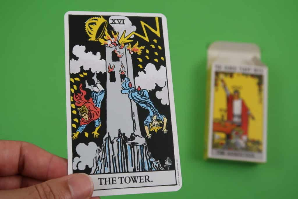 The Tower Upright Meaning