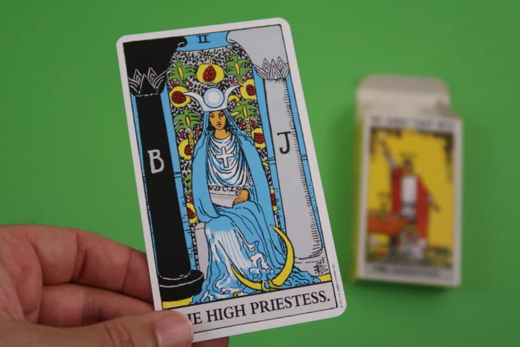 The High Priestess Upright meaning