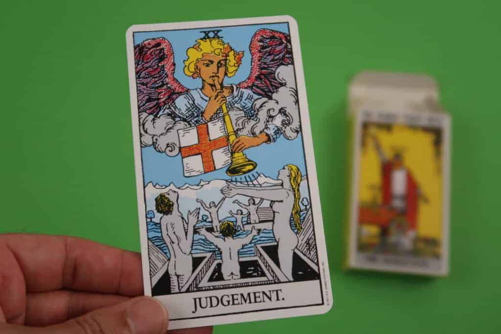 Card reading of The Judgement Upright Tarot