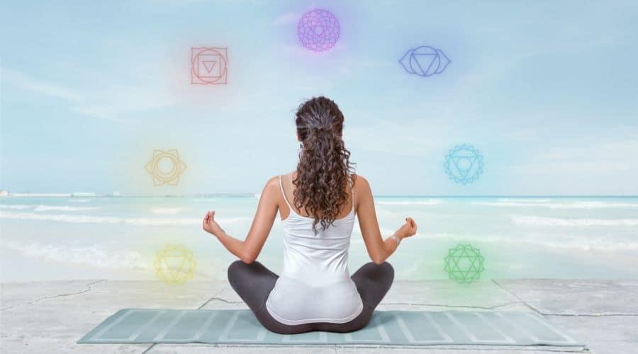 Psychic development through reading chakra books