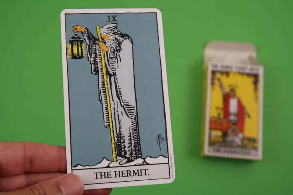 The Hermit Upright Tarot Card Reading